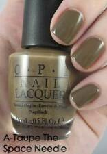 NEW! OPI Nail Polish Vernis A-TAUPE THE SPACE NEEDLE