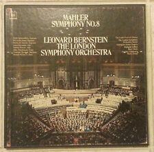 Mahler: Symphony 8, Leonard Bernstein (2 x LP Columbia M2L-351, 2 Eye) VG/NM