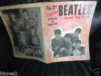 THE BEATLES 1964 SHEET MUSIC BOOK  2nd Issue 1st PRINT 8 SONGS + MUSIC + PHOTOS
