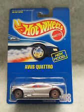 HOT WHEELS   Avus Quattro  Silver    #208  NOC  1:64 scale  (9)  5260