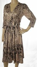 Jane Austin Lana Dress - Nude - UK Size 16 - RRP £39.99 - Box6543 G