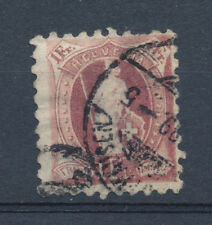 Switzerland stamp  1888 1f perforation 9 1/2