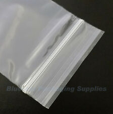"500 Grip Seal Clear Resealable Poly Bags 5"" x 7.5"""