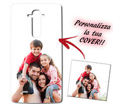 CUSTODIA COVER CASE FOTO PERSONALIZZATA PER LG G4