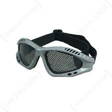 Field grey mesh goggles-camouflage militaire tactique combat airsoft sécurité
