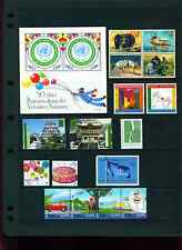 2001 UN Mint Vienna Stamps - Never Hinged - Complete (except sheet and booklet)