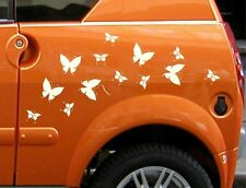Set of 13 stylish Butterflies decal sticker vinyl wall art child room Car Camper