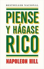 NEW Piense y hagase rico / Think and Grow Rich by Hill, Napoleon; Pomares, Jose