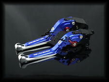 Foldable Adjustable B/C Levers For Suzuki GSXR1000 09-15 GSXR600/750 11-15 Blue