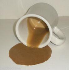 FAKE FOOD DINER SPILLED DINER STYLE MUG OF COFFEE GREAT GAG GIFT