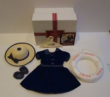 American Girl Samantha Piney Point Bathing Costume Swim Set in Original Box