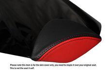Diseño 2 Color Negro Y Rojo Custom encaja Honda Cbr 1000 Rr 08-12 Fireblade almohadilla cubierta