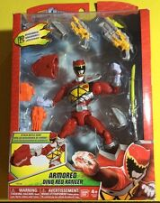 Power Rangers Dino Charge - Armored Dino Red Ranger Figure (BRAND NEW) **HOT**