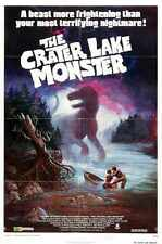 Crater Lake Monster Poster 01 Metal Sign A4 12x8 Aluminium