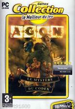 JEU PC CD ROM../....AGON......LE MYSTERE DU CODEX.../.......