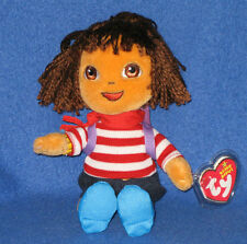 TY DORA the EXPLORER BEANIE BABY - FRANCE VERSION