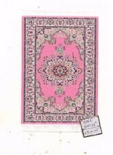 Rug  #32S miniature dollhouse woven carpet 1pc throw 1/12 scale made in Turkey