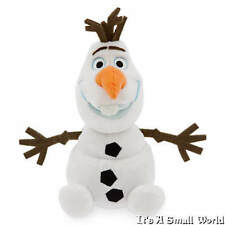 "Disney Store Authentic Olaf Plush Mini Bean Bag Doll 8"" H Seated Frozen NWT"