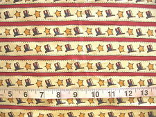 "100% Cotton Fabric ""The Whole Country Caboodle"" by Spectrix Flags/Stars Stripes"