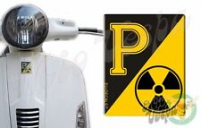 Front Badge Overlay RadioActive Collection 3D Decals sticker Vespa Gts Gt ET PX