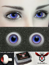 1/3 1/4 bjd 14mm violet with blue high quality glass doll eyes dollfie #M-34