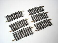 LOT 6 QUART DE RAILS COURBE ACIER R325  - JOUEF - REF 470/4 - ECHELLE HO