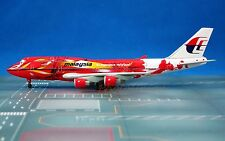 Dragon Wings Malaysia Airlines B747 1:400 Hibiscus Diecast Plane Model 55519 N
