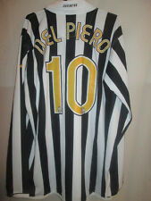 Juventus 2006-2007 Del Piero Home Football Shirt Size XL BNWT LS  /34040