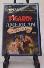 Figaro's American Adventure (DVD, 2008) LA Opera Rossini Villanueva #3067