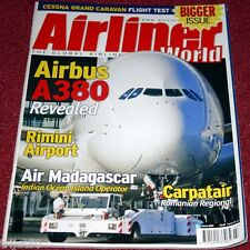 Airliner World 2005 March Air Madagascar,Carpatair,Blue Panorama,Cessna 208