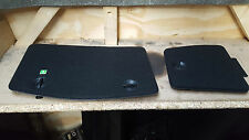 BOTH  BOOT COMPARTMENT COVER MERCEDES W203 CL203 rear door oem black C CLASS