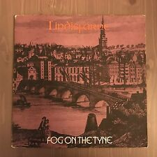 LINDISFARNE Fog On The Tyne 1971 UK Vinyl LP Pink Scroll L