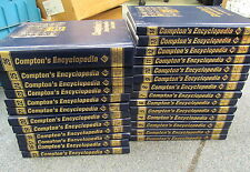 Compton's Encyclopedia New Millennium Edition Illustrated 2000 Full Set 1 - 26