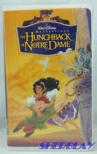 The Hunchback of Notre Dame VHS Movie 7955 1997 Disney Masterpiece Collection