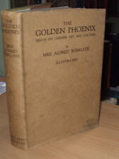 1930 - THE GOLDEN PHOENIX - CHINESE ART & CULTURE by A WINGATE - 1st HB DJ