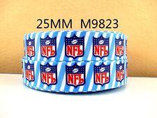 1 METRO NFL American Football dimensioni della barra multifunzione pollici FIOCCHI Cerchietti COMPLEANNO TORTA USA