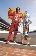 "Dario Franchitti SIGNED ""Yard of Brick"" Portrait ,Indianapolis 500 Winner 2012"