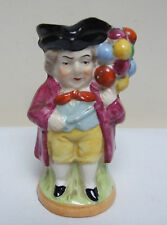 CONTINENTAL GERMAN? MINIATURE TOBY CHARACTER JUG WITH BALLOONS ANCHOR MARK 4""