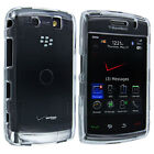 Clear Snap-On Hard Case Cover for Blackberry Storm 2 9570 / 9550