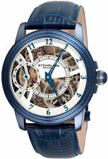 Stuhrling 228 33L5C3 Mens Symphony Saturnalia Brumalia Mechanical Skeleton Watch