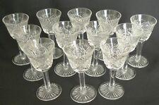 """12 Vintage D'Arques Cristal Goblets Crystal 4"""""""