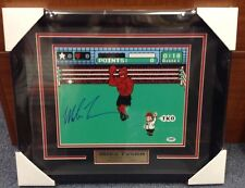 Mike Tyson Autographed Signed And Framed 11x14 PUNCH OUT Photo W/ PSA/DNA AUTH