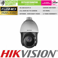 HIKVISION 2MP 1080P TURBO HD-TVI  23x Zoom 100M IR SPEED PTZ OUTDOOR CCTV CAMERA