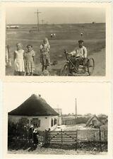 Lot de 5 Photos Ukraine Snapshot Vers 1940/50