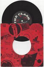 """The Clash/Mikey Dread """"Hitsville UK"""" 7"""" OOP NM Lee Perry Joe Strummer"""