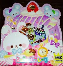 Kawaii CruX Cute Sweets Sticker Flakes Sack 52 Stickers
