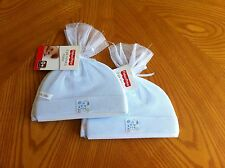 4 Fisher Price Newborn / Infant Baby Boy Hats Baby Shower Gift * 2 Sets of 2