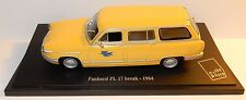 NOREV PANHARD PL17 PL 17 BREAK 1964 POSTES POSTE PTT 1/43 in blister box