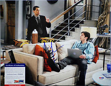 PSA/DNA SIGNED 11X14 PHOTO JON CRYER (TWO AND A HALF MEN) PE194