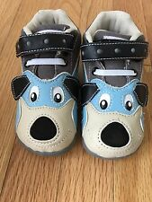 Very Cute! New Zooligans Sparky The Puppy Leather Walking Shoes Toddler 8M
